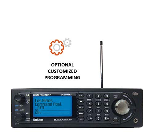 BCD996P2 Mobile/Base Police Scanner Radio with Bundled Customization Options