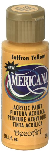 DecoArt Americana Acrylic 2 Ounce Saffron