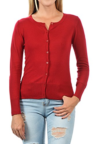 YourStyle Basic Button Cardigan Sweater product image