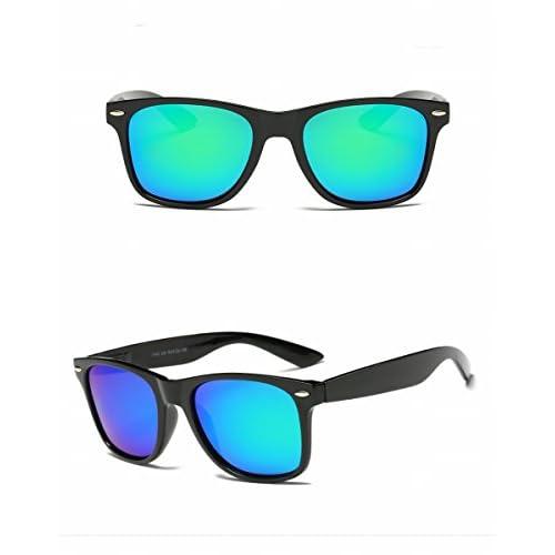 8c2ab6810d Delicado Gafas de Sol Polarizadas Clásicas Marco Grande Gafas de Sol Unisex  Conductor de Conducir Gafas