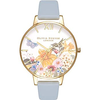 Olivia Burton Enchanted Garden White Dial Ladies Watch OB16FS96