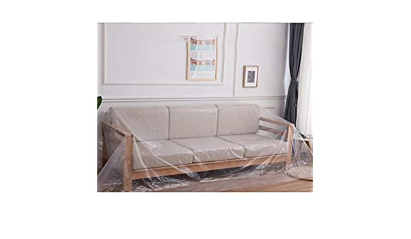 Amazon.com: Transparent Furniture Dust Cloth, Cover Plastic ...