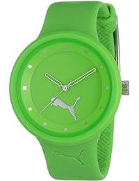 Puma Women's MOTOR PU910682004 Green Polyurethane Quartz Watch with Green Dial