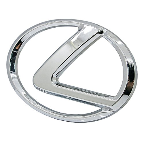 Front Grill Grille Chrome Logo Emblem Badge For Lexus IS250 IS300 IS350 IS220D 2006-2013 (Lexus Chrome Grill)