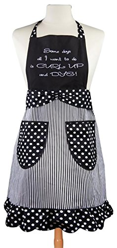 Manual Woodworkers & Weavers Hair Stylist Apron, Curl Up and Dye