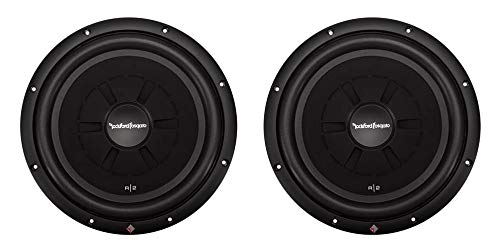 "2) ROCKFORD FOSGATE R2SD4-12 12"" 1000W Car Shallow Mount Slim"