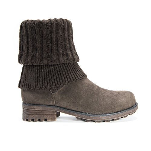 MUK LUKS Winter Kelby Brown Boot Women's OO4awqrzx
