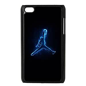 iPod Touch 4 Case Black Jordan logo L0557287