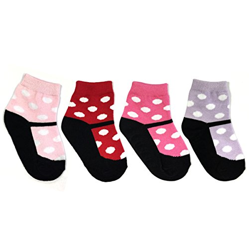 Wrapables Non Slip Cute Mary Socks
