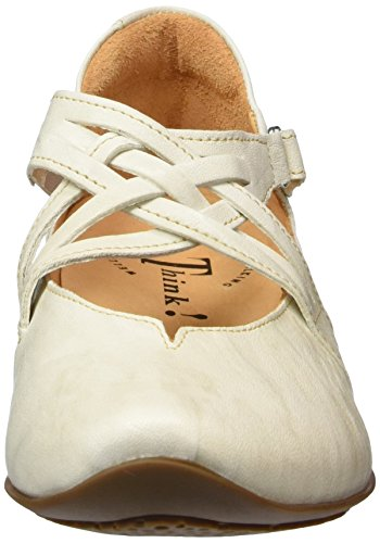 Cassé Ballerines Chilli Femme 28 shell Blanc Think Ixwvpq