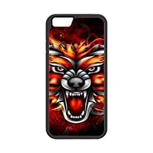 Iphone 6 Flame Phone Back Case Personalized Art Print Design Hard Shell Protection LK019974