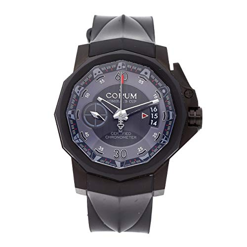 Corum Admiral's Cup Chronograph PVD Titanium Auto 44mm Mens Watch Strap 961.101.94-F371.AN12