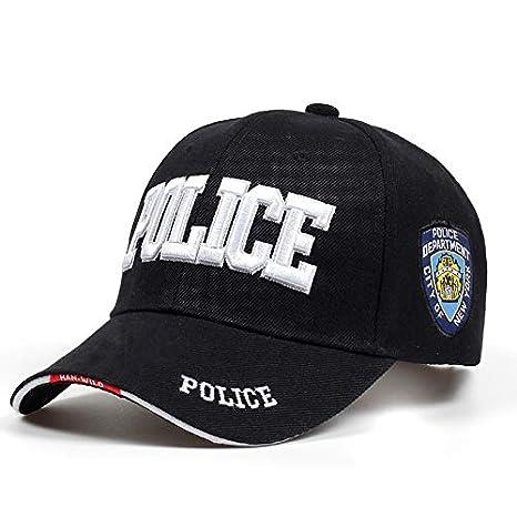 SUNNYBQM Gorra De Beisbol Policía para Hombre Gorra Táctica Swat ...