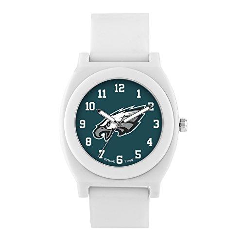 NFL Philadelphia Eagles Mens Fan Series Wrist Watch, White, One Size -