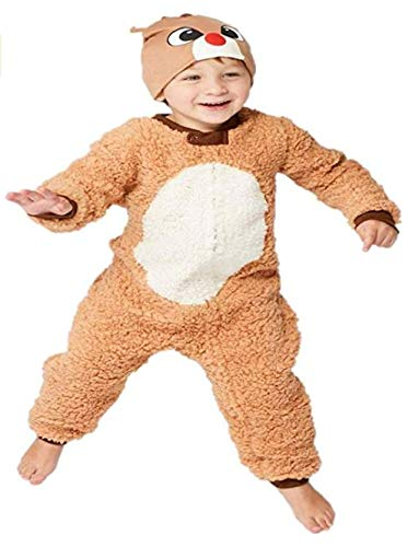 Rudolph The RED Nosed Reindeer Baby Union Suit 12m