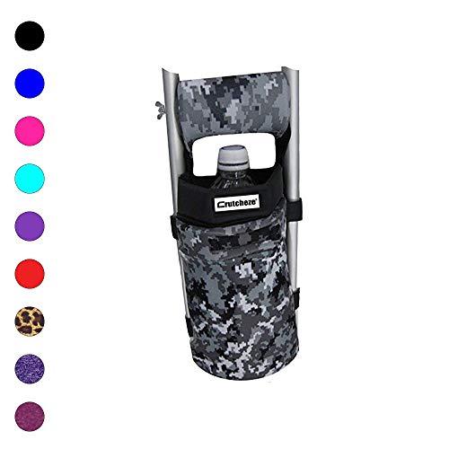 Crutcheze USA Made Premium Crutch Bag, Pouch, Pocket, Tote Washable Designer Fashion Orthopedic Products Accessories (Digital Camo)