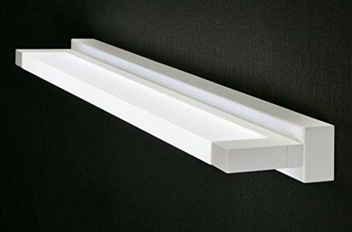 Applique lampada da parete luce da specchio bagno led 18w 3000k 65cm