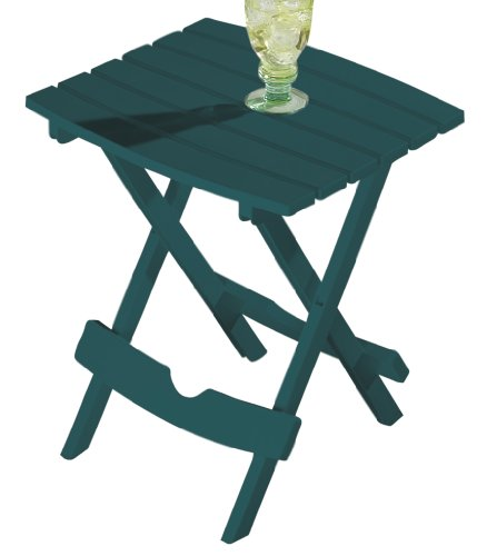 Miles Kimball Green Outdoor Folding Side Table (Mil Green Furniture Outdoor)