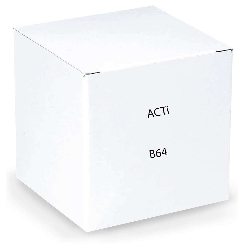 ACTi B64 1.3MP Indoor Zoom Dome Camera