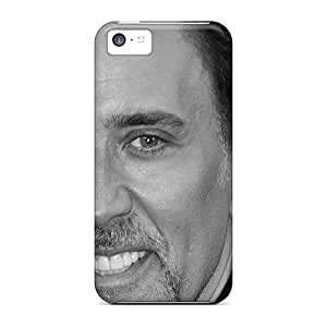New Cute Funny Nicolas Cage Male Celebrity Photo Case Cover/ Iphone 5c Case Cover