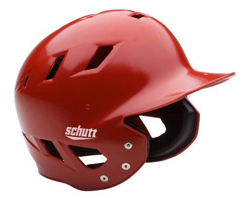 Schutt Sports AiR Maxx T Baseball Batter's Helmet, High Gloss Cardinal, X-Large -