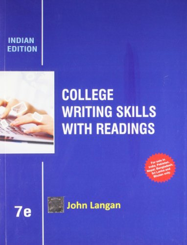 college writing skills with readings Find great deals on ebay for college writing skills with readings shop with confidence.