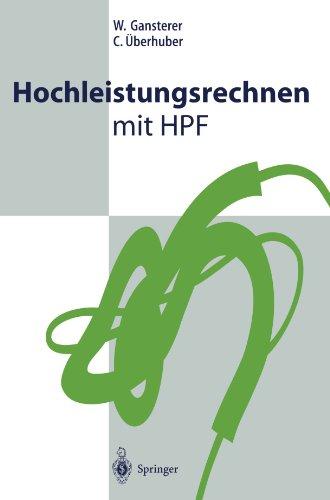 Hochleistungsrechnen mit HPF (German -