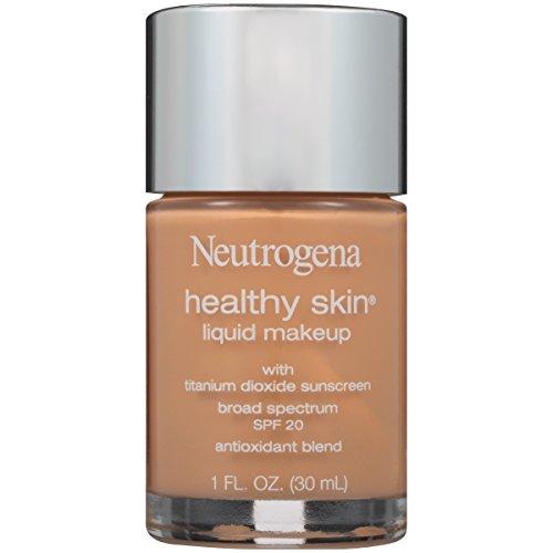 Neutrogena Healthy Skin Liquid Makeup Foundation, Broad Spectrum Spf 20, 105 Caramel, 1 Oz.