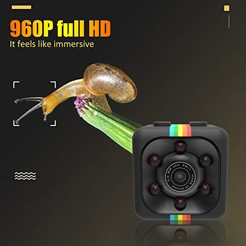 Videocamera SQ11 Mini Micro HD Dice Video Night Vision HD 1080P 960P Videocamera Sensore di movimento Videocamera Wifi Telecomando Nero