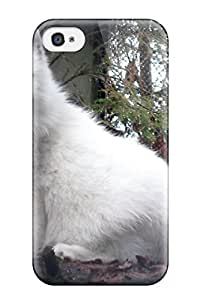New Style ZippyDoritEduard Hard Case Cover For Iphone 4/4s- Arctic Foxes