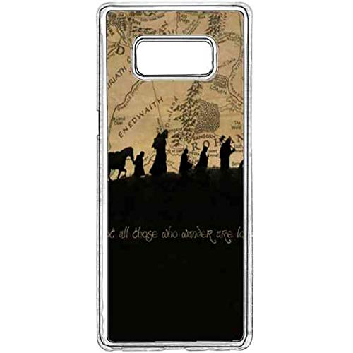 - Samsung Galaxy S8 Bible Verse Case,Galaxy S8 Ultra Thin Slim Case,Bible Verse Songs Samsung Galaxy S8 Case Cover Not All Who Wander are Lost Hard TPU Silicone Gel Case for Galaxy S8