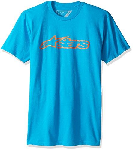 Homme Turquoise orange Alpinestars Chemise turquoise Classic Casual Blaze Tee BqSX1