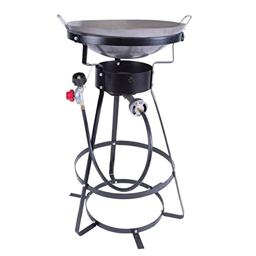 - Stansport Outdoor One Burner Stove with Wok