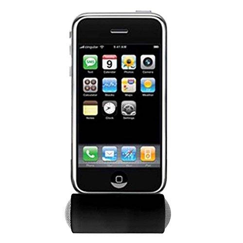 Net_Cafe Mini Portable 3.5mm Stereo Speaker for iPod iPhone Samsung MP3 MP4 Black