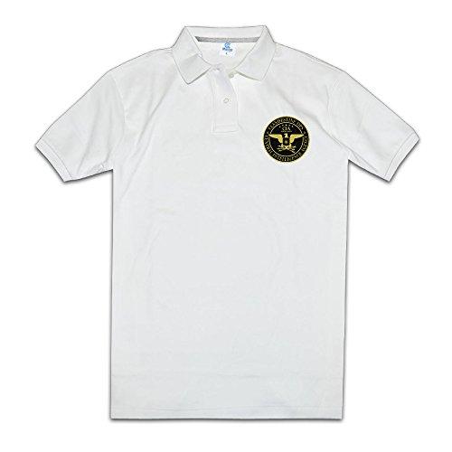 Men's CIA Clandestine Ops Polo Collared Shirt Tee