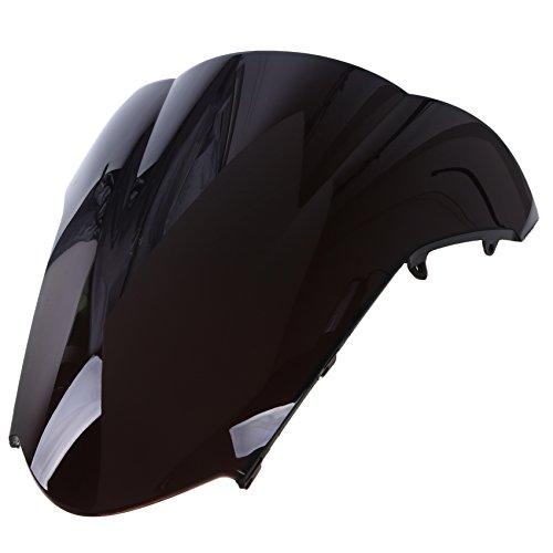 POSSBAY Motorcycle Front Windshield Windscreen Deflector for Honda VFR800 2002-2009
