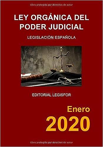Ley Orgánica del Poder Judicial: Amazon.es: Legislación española ...