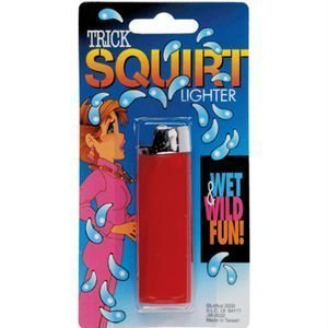Water Squirting Lighter Prank Toy