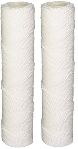 Whirlpool WHKF-WHSW String Wound 5 Micron Sediment Water Filters - 2-Pack by Whirlpool