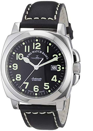 Zeno-Watch Mens Watch - Square Pilot Automatic - 3554-a1