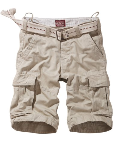 Match Mens Twill Cargo Shorts Quick-dry Summer Shorts S3612(Label size 3XL/38 (US 36),3648 Off white)