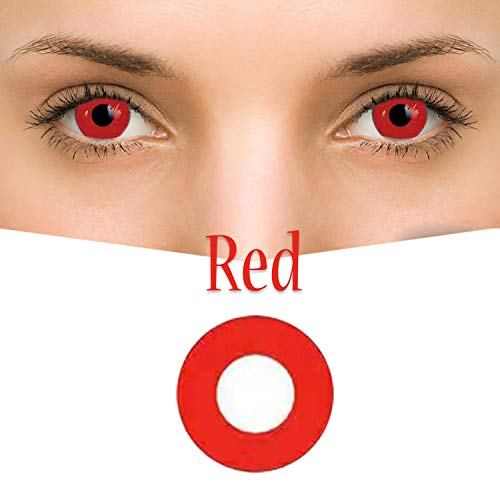 TT-BEST Women's multi-color cute charm and attractive color eye enhancer multi-color shadow, the most natural eye color change (Red)