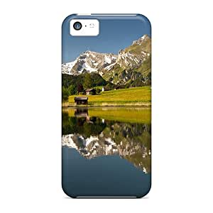 Durable Defender Case For Iphone 5c Tpu Cover(amazing Countryside Lscape)
