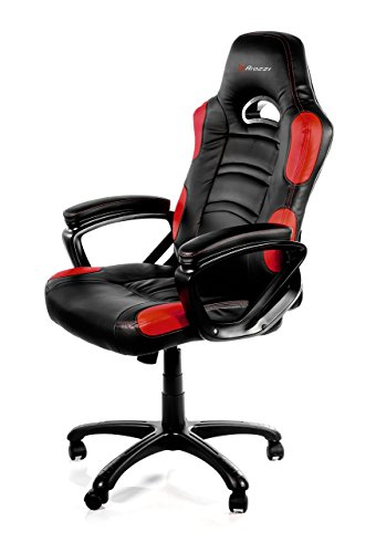 Galaxy Executive Chair (Arozzi Enzo Series Gaming Racing Style Swivel Chair, Black/Red)