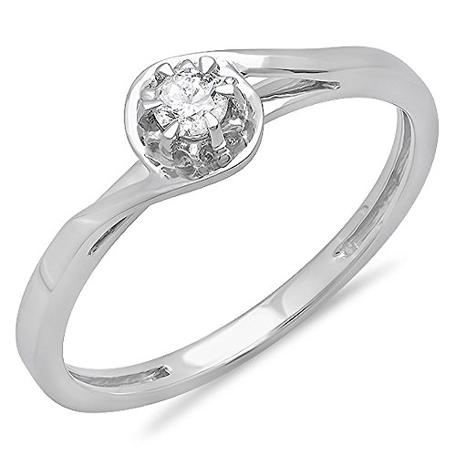 012-carat-ctw-18k-white-gold-round-cut-diamond-twisted-style-solitaire-bridal-promise-ring-size-85