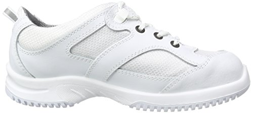 PROTEQSicherheitsschuhe uni6 1720 Halbschuh   S1  Stahlkappe - Zapatos de Seguridad Unisex adulto Blanco - blanco