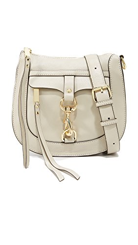 Clip Rebecca Saddle Minkoff Dog Khaki Bag Cross Body PqRzEfR