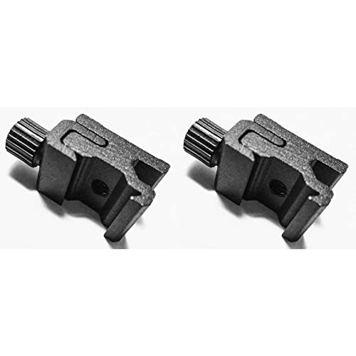 "2 pcs Hot Shoe Flash Mount Adapter 1/4""-20"