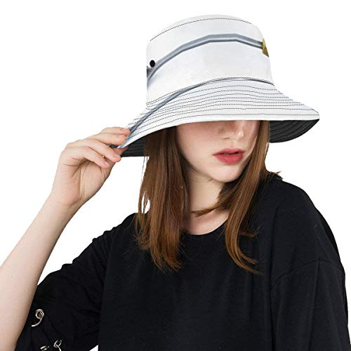 A Variety of Spoons New Summer Unisex Cotton Fashion Fishing Sun Bucket Hats for Kid Teens Women and Men with Customize Top Packable Fisherman Cap for Outdoor Travel