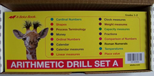 A Beka Arithmetic Drill Set A FLASHCARDS, used for sale  Delivered anywhere in USA
